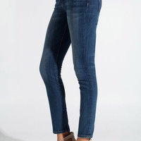 Current/Elliott The Ankle Skinny Jeans in Loved