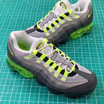 Nike Air Vapormax 95 Og Neon Sport Running Shoes - Best Online Sale