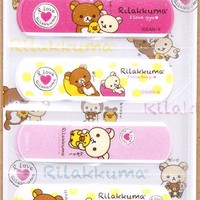 Rilakkuma glitter Bandage Band-Aid 10 pcs bear & chick - other cute things - Stationery