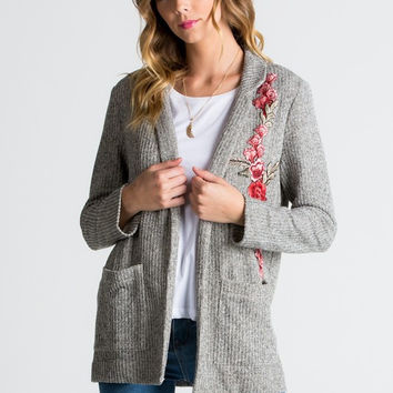 Terry Knit Jacket