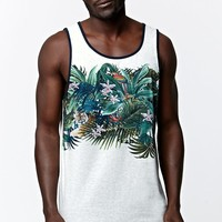 On The Byas Colton Jungle Tank Top - Mens Tee - Brown
