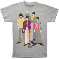 Beatles Men's  Submarine T-shirt Grey Rockabilia