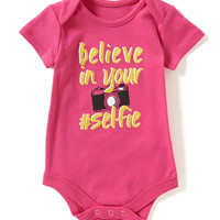Baby Starters Babies With Attitude 3-12 Months Believe In Your #Selfie Bodysuit | Dillards