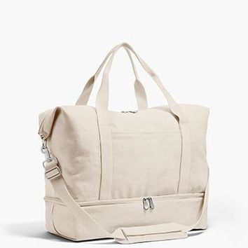 The Catalina Deluxe - Washed Canvas - Dove Grey
