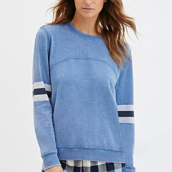 Striped PJ Pullover | Forever 21 - 2000141502