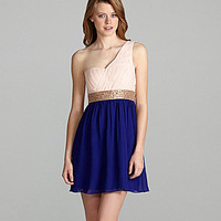 GB One-Shoulder Dress | Dillards.com