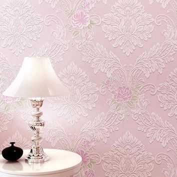 Flowers Wallpaper Roll 3D - Free Shipping