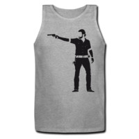Walking Dead Men's Tank Top - Men's Custom Tank Tops