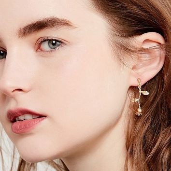 Rose Statement Drop Earring | Urban Outfitters