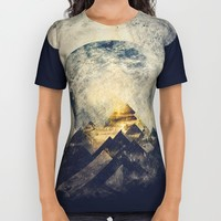 One mountain at a time All Over Print Shirt by HappyMelvin