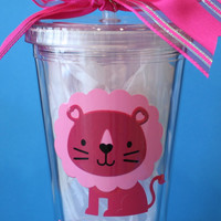Personalized Phi Mu Sorority Tumbler