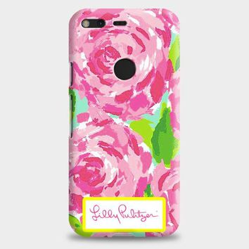 Lilly Pulitzer First Impression Rose Inspired Google Pixel XL Case