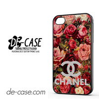Floral Chanel 2 For Iphone 4 Iphone 4S Case Phone Case Gift Present YO