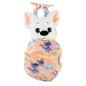 Disney Parks Baby Bolt in a Blanket Pouch Plush New with Tags