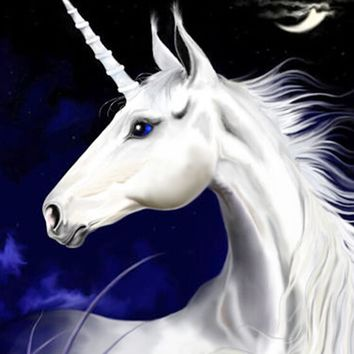 Newest 3D DIY Diamond Painting Unicorn And Moon Myth Sewing Mosaic Rhinestones Cross Stitch Home Decoration Art Hobby Craft Kits