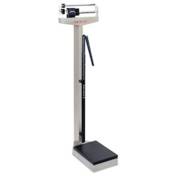 Doctors Beam Scale with Height Rod