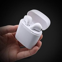 MINI Earbuds Ture Wireless Bluetooth Double Earphones Earpieces Stereo Music Headset For Apple iPhone X 8  Plus