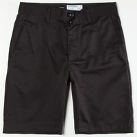 Rvca Week-End Mens Slim Shorts Black  In Sizes