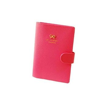 CREYCI7 Hasp Opening PU Leather Passport Holders Lady Loved Highend Travel Passport Cover Bags