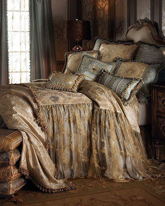 """Sweet Dreams - """"Crystal Palace"""" Bed Linens - Horchow"""