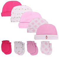 spring 2017 baby & kids accessories baby hats & caps 100% cotton Baby Boy and girl newborn photography props Cap, 0-6 Months