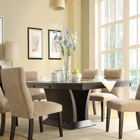 Homelegance Avery Dining Table - Espresso | www.hayneedle.com