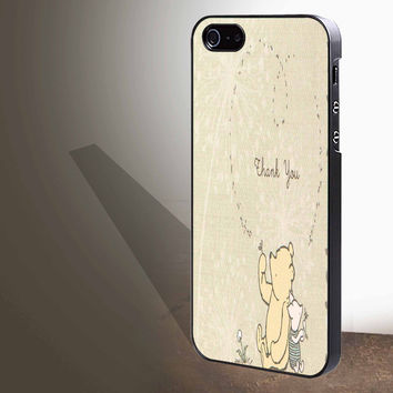 "classic winnie the pooh and piglet for iphone 4/4s/5/5s/5c/6/6+, Samsung S3/S4/S5/S6, iPad 2/3/4/Air/Mini, iPod 4/5, Samsung Note 3/4 Case ""005"""