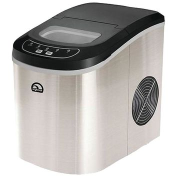 Igloo(R) ICE102ST Compact Ice Maker (Stainless Steel)