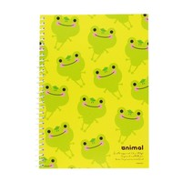 Animal Compact SP Blank Notebook - Frog w/ Yellow