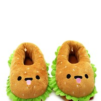 Hamburger House Slippers