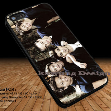 Cute Guys in Black iPhone 6s 6 6s+ 5c 5s Cases Samsung Galaxy s5 s6 Edge+ NOTE 5 4 3 #music #1d DOP21377