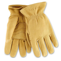 Red Wing Yellow Buckskin Leather Unlined Gloves