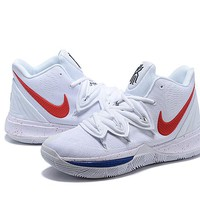 """Nike Kyrie 5 """"White/Red"""""""