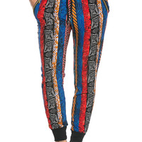 Color Me Boho Jogger Pants Multi
