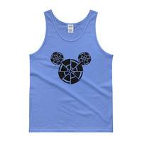 Wish Upon A Death Star Disney Star Wars Mashup Parody Men's Tank Top