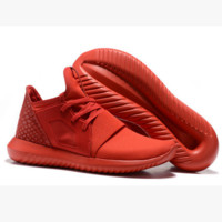 ADIDAS Fashion Sneakers Sport Shoes Tubular Sneakers red