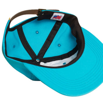 CHERRY BOMB OLD MAN HAT PACIFIC BLUE