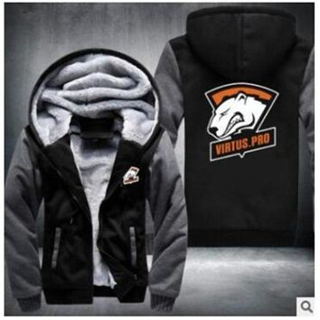 Dropshipping Men Women Steelers Broncos Cowboys Hoodies Zipper Sweatshirts Jacket Printed Winter Thicken Hooded Coa