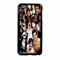 Harry Styles One Direction Collage Clothes Off iPod Touch 5th Generation Case