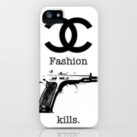 Chanel fashion iPhone Case by Jack Rivington
