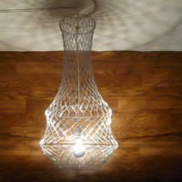 12 Page Paper Clip Chandelier Tutorial