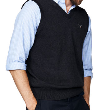 Solid Cotton Vest