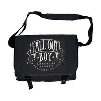 Fall Out Boy American Beauty Messenger Bag Black