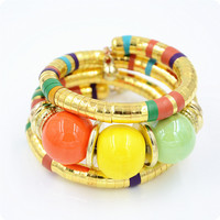 Shiny New Arrival Stylish Awesome Hot Sale Gift Great Deal Accessory Strong Character Punk Ring Club Bangle Bracelet [4970306244]