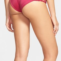 Junior Women's RVCA 'Painted' Cheeky Bikini Bottoms,