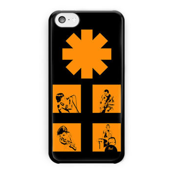 Red Hot Chili Peppers Rock Band iPhone 5C Case