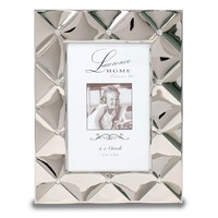4x6 Silver Pillow Metal Picture Frame
