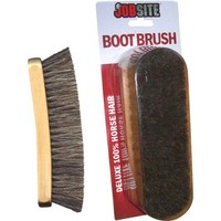 Genuine Horsehair Shoe Shine Brush