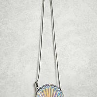 Iridescent Seashell Crossbody