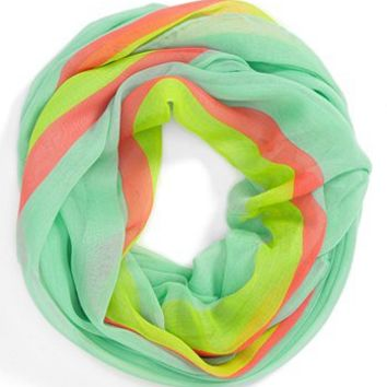David & Young Stripe Infinity Scarf   Nordstrom